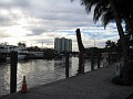 Draw Bridge in the inter-coatal waterway / Ft  Lauderdale, Florida.