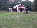 The barn that I built around 1998.