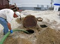 Septic Tank Cleaning Project at Home/Office.  Gets done once about every 2 years.