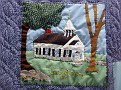 HARWINTON - HARWINTON LIBRARY - 250th ANNIVERSARY QUILT 08
