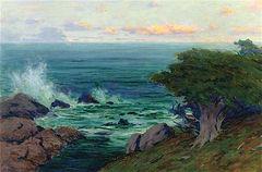 Evening, Point Lobos (undated)