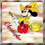 Minnie as witchTChristopher
