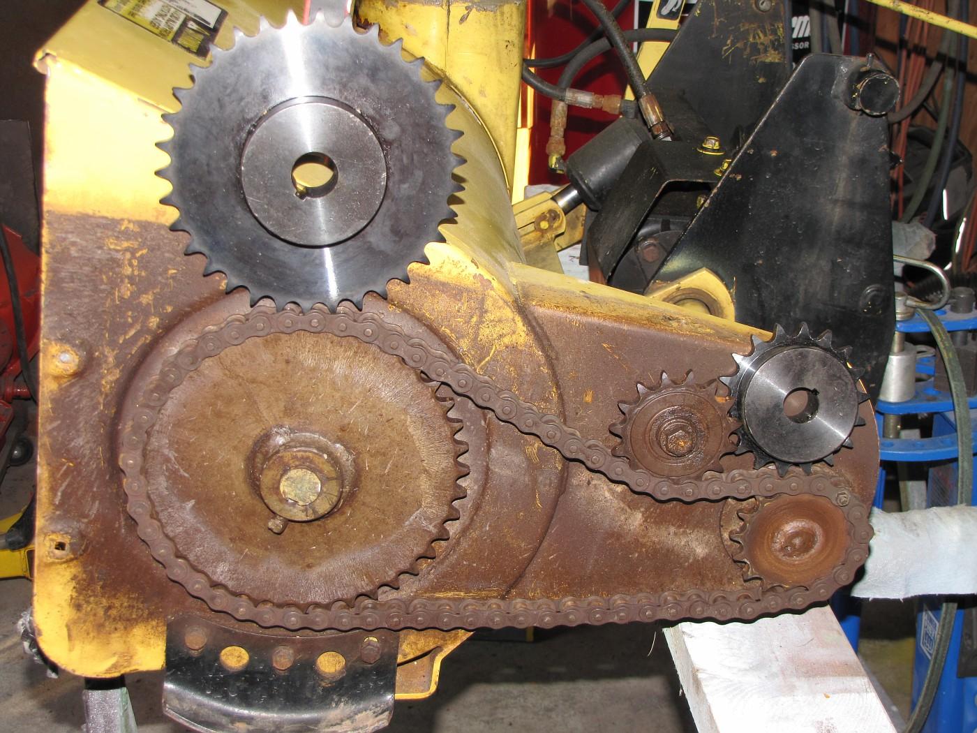 Toasty's Model 49 snow blower rebuild (PIC'S ...
