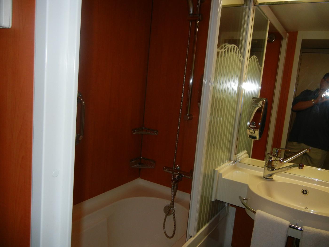 Ncl Pearl Mini Suite Bathroom Question Cruise Critic