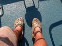 Croc feet