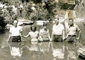 Old Time Baptising. Do you know where?