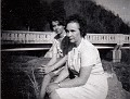 Mildred Hazel (FOUST) Lay and Gladys Hamby