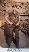 E. Ray Austin, DAK TO, Vietnam. Jan 1969 - Jan 1970.