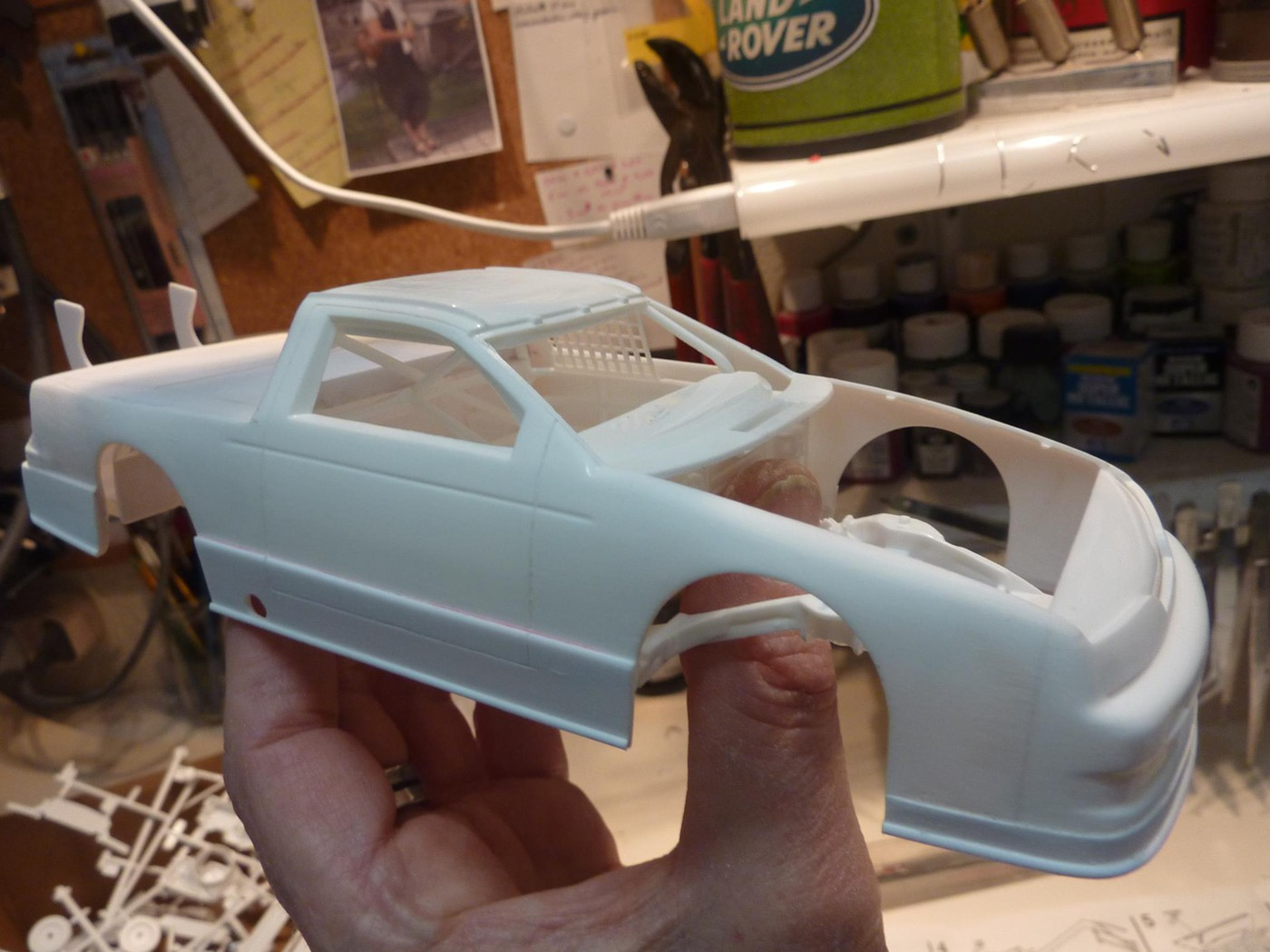 Ford T Bird Pickup racer Bonneville ( Ex Nascar) terminée  Photo12-vi
