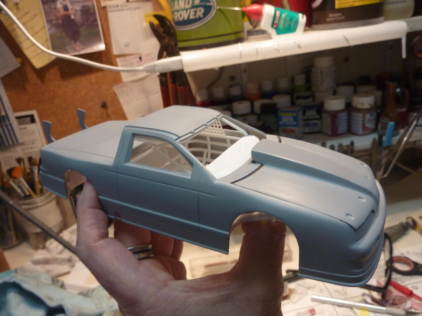 Ford T Bird Pickup racer Bonneville ( Ex Nascar) terminée  Photo3-vi