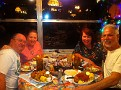 Dinner with Carole & Bob. Hernando, Florida.
