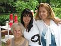 Gary's Grandmom, Cora...  Alissa and her mom, Gary's Aunt Yaya...