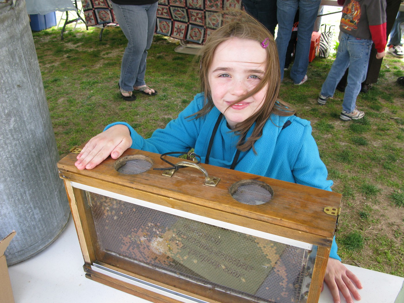 "This young person already knew she wanted to be an ""Entomoligist""  (one who studies insects)"