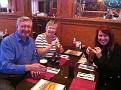 Myra & Bob from Scotland and Erin at Owens Pub in North Wildwood, Nj.