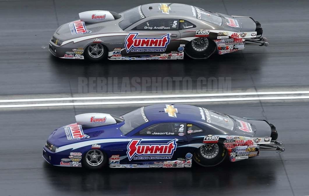 Pro Stock Cars : Slixx summit pro stock camaro blue or silver car