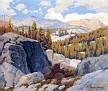 High Sierras from Soda Spring [c.1918-20]