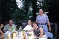 Накануне выступления в доме у Геннадия и Виктории Шварцман (крайние справа). Нью-Джерси, лето 2003 г.