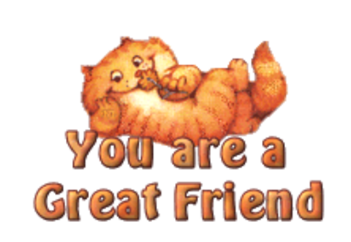You are a Great Friend - SpringKitty