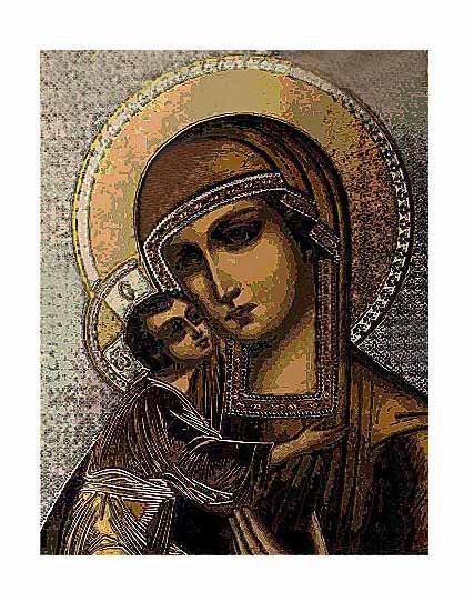 The Bronze Madonna w Child @2008 R valerie jagiello