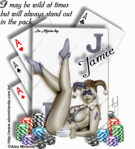 Jamie Joker AMiranda Alyssia