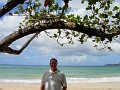 me at Vigie beach (next to airport in middle of Castries)