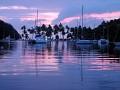 sunset at Marigot Bay