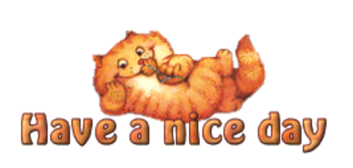 Have a nice day - SpringKitty