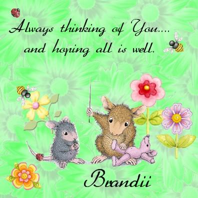 Brandii  Sew thinking of you