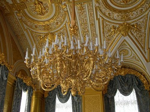 Winter Palace, Saint Petersburg - Big Chandelier