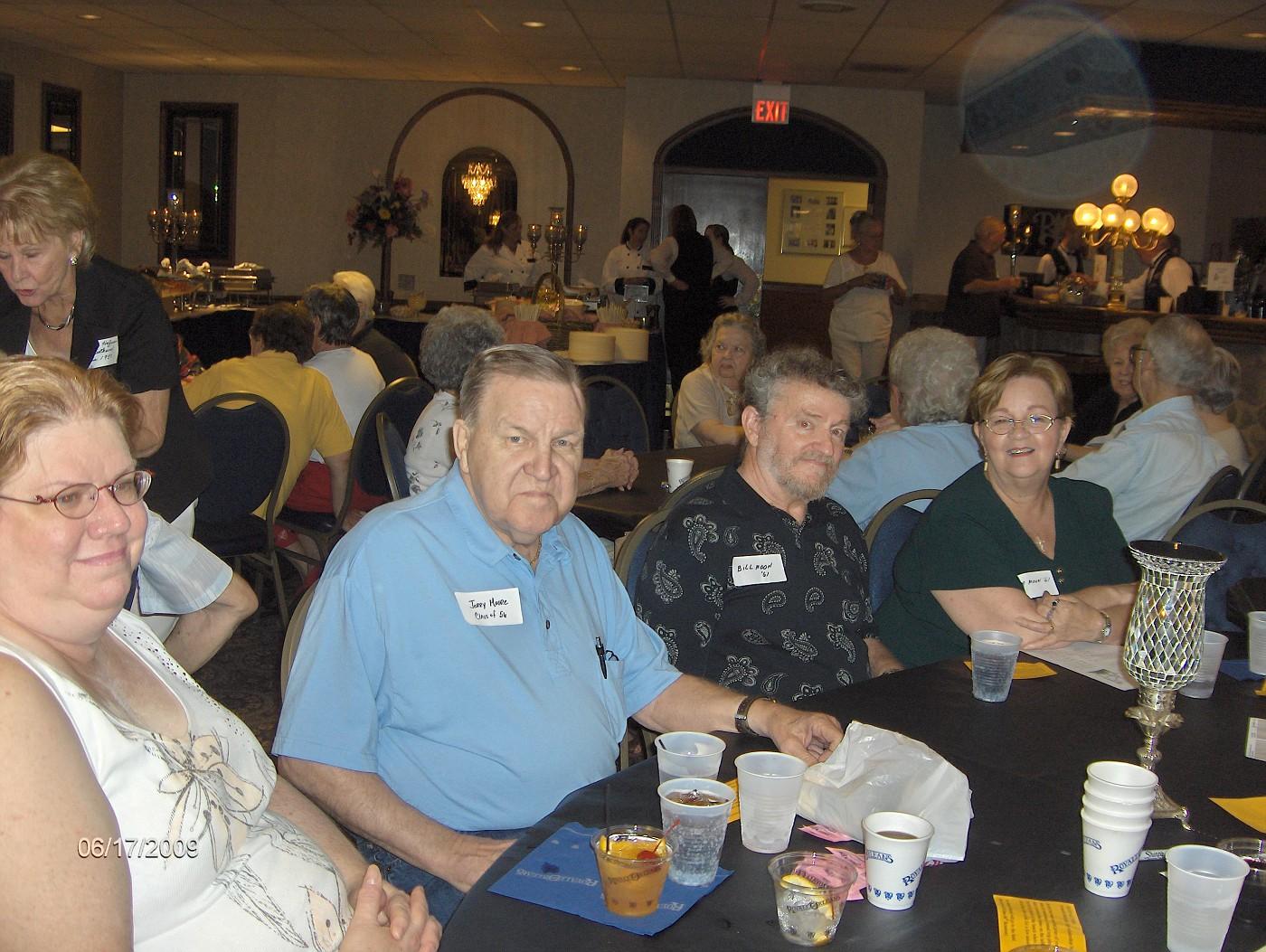 Anita & Jerry Moore, Bill & Bea Moon