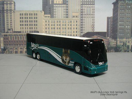 Wolf's Bus Lines York Springs Pa.