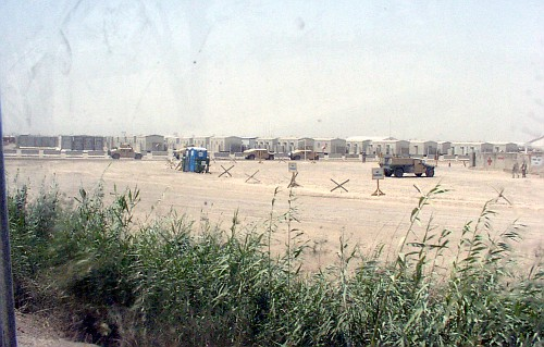Trailers on Camp Liberty