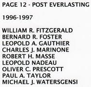 PAGE 12a - POST EVERLASTING - 1996-1997