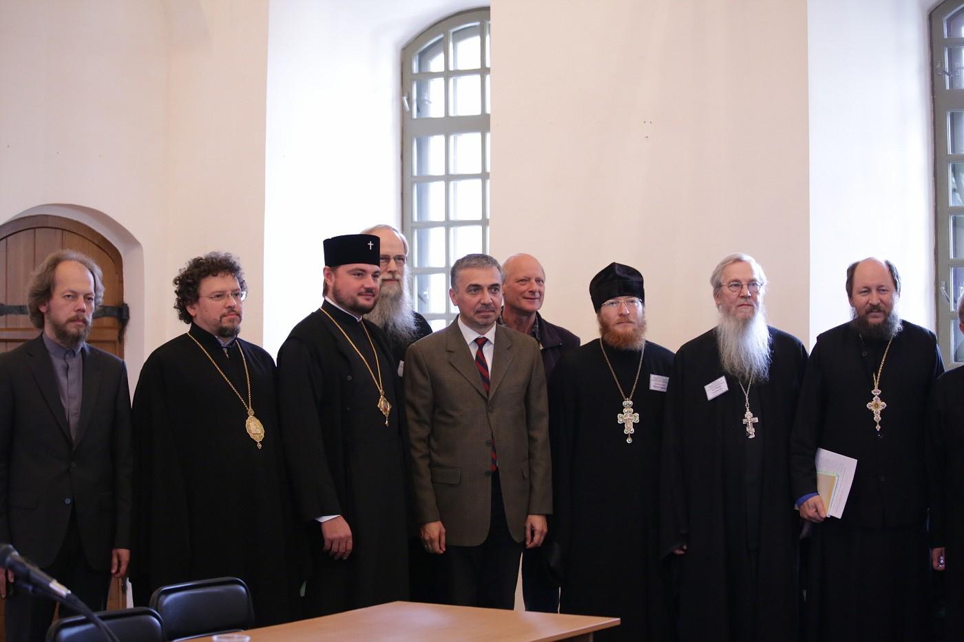 Group photo with Orthodox Bishops and Fathers from Chevetogne Abbey (Belgium)