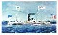 American Heritage Steamboats #14 Ocean 1849