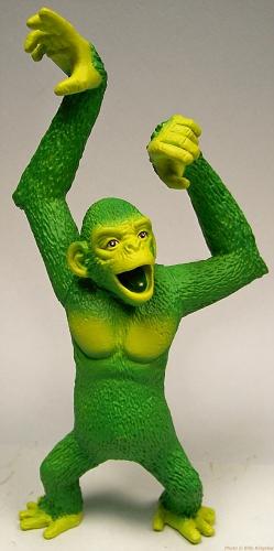 Changeling as green monkey