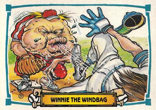 1988 Leaf Baseball's Greatest Grossouts #20 (1)
