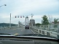 Crossing the Mid Hudson Bridge en route to Highland