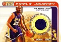 Jersey Brian Shaw 2001-02 Topps Champions & Contenders Finals Journey