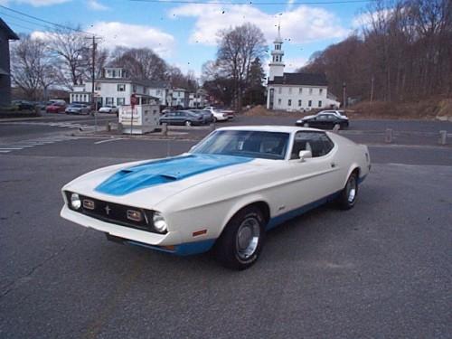 Mustang Sprint 1972