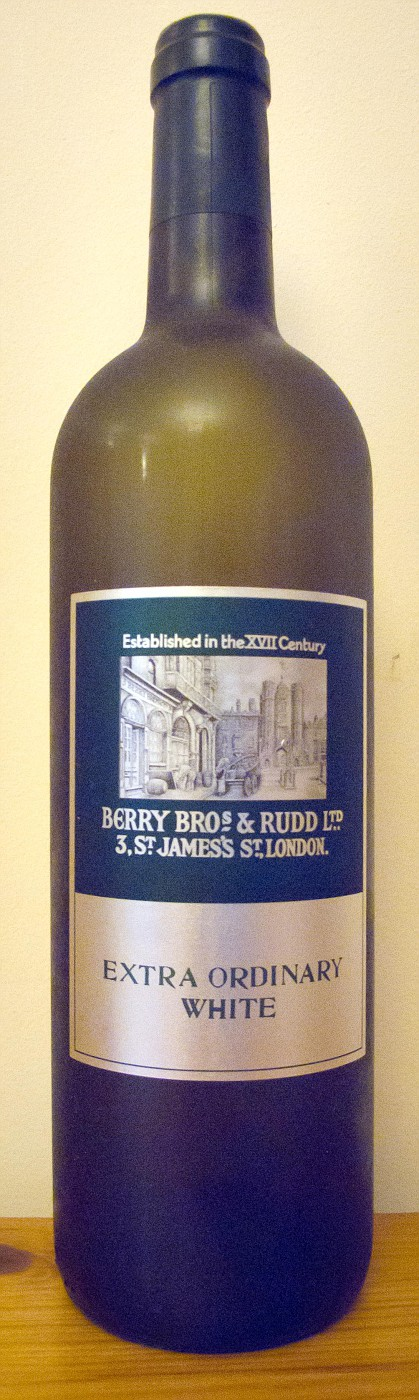 2007 Berry Bros  & Rudd Extra Ordinary White