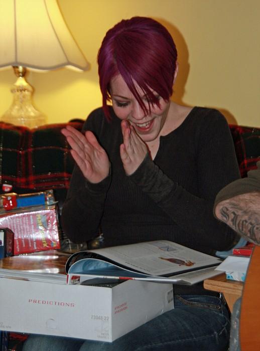 Lisa Loves Her New Book