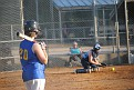 Deanna's first 14U softball game - May 30, 2012