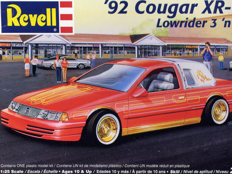 Photo 1992 Ford Cougar XR 7 Lowrider Box