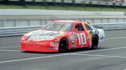 1997 Ricky Rudd, Mountain Spring Tide car at Pocono.