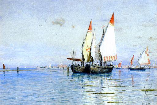 Fishing Boats, Venice [undated]