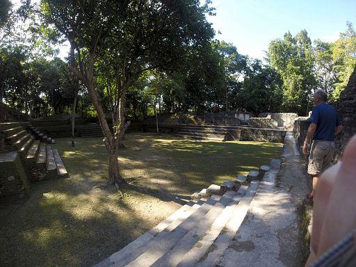 Cahal Pech courtyard