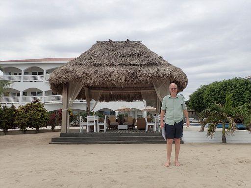 Belize Ocean Club breakfast pavilion