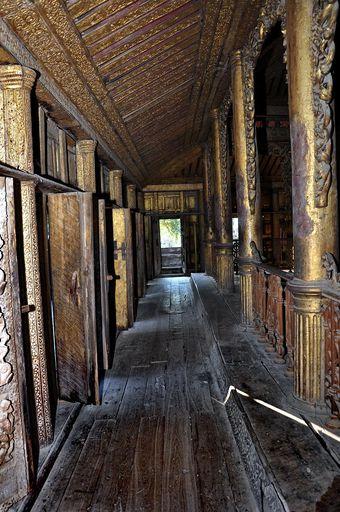 Shwe In Bin - korytarz