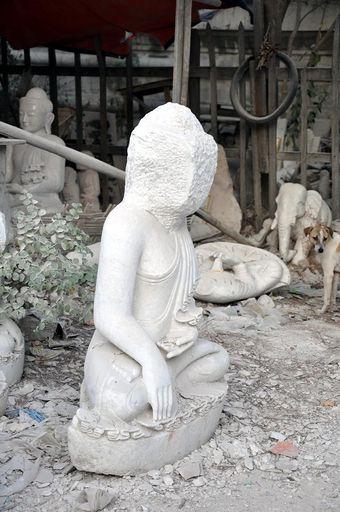 To będzie posąg Buddy